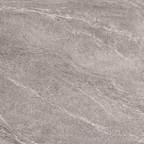 Gartenplatte grau